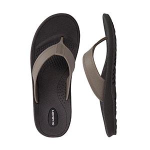 Okabashi Mariner Black Fawn Sandals Mens