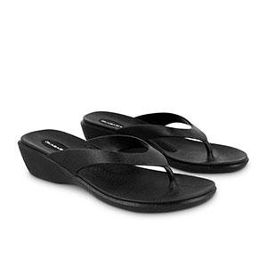 Okabashi Splash black Angle sandals