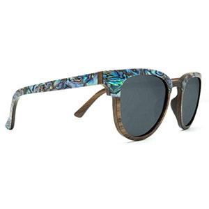 SLYK Shades beachcomber smoke wood sunglasses