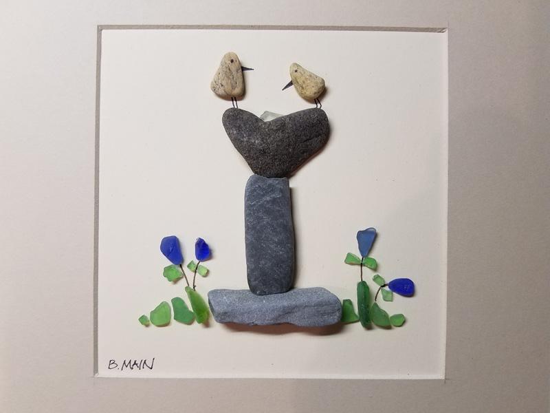 Beach Stone & Sea Glass Originals by Brian & Lauren Main