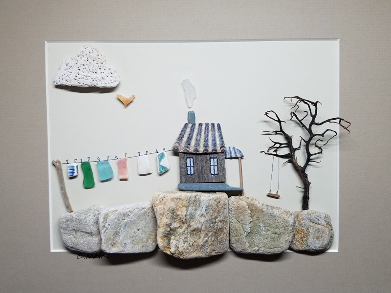 Beach Stone & Sea Glass Originals by Brian & Lauren Main