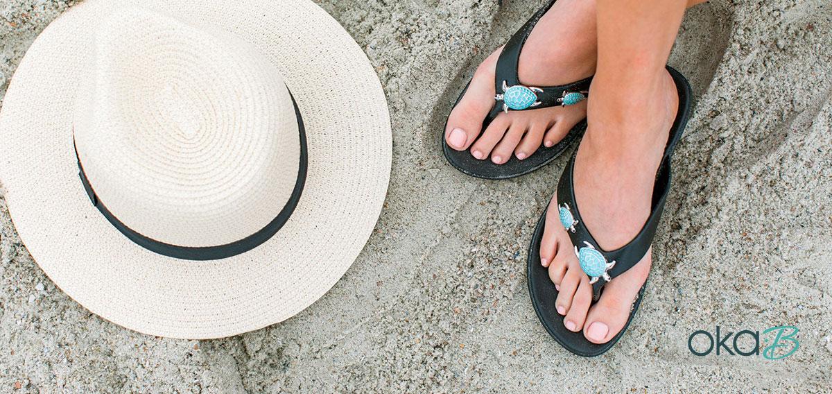 Oka-B sandal or ballet flat