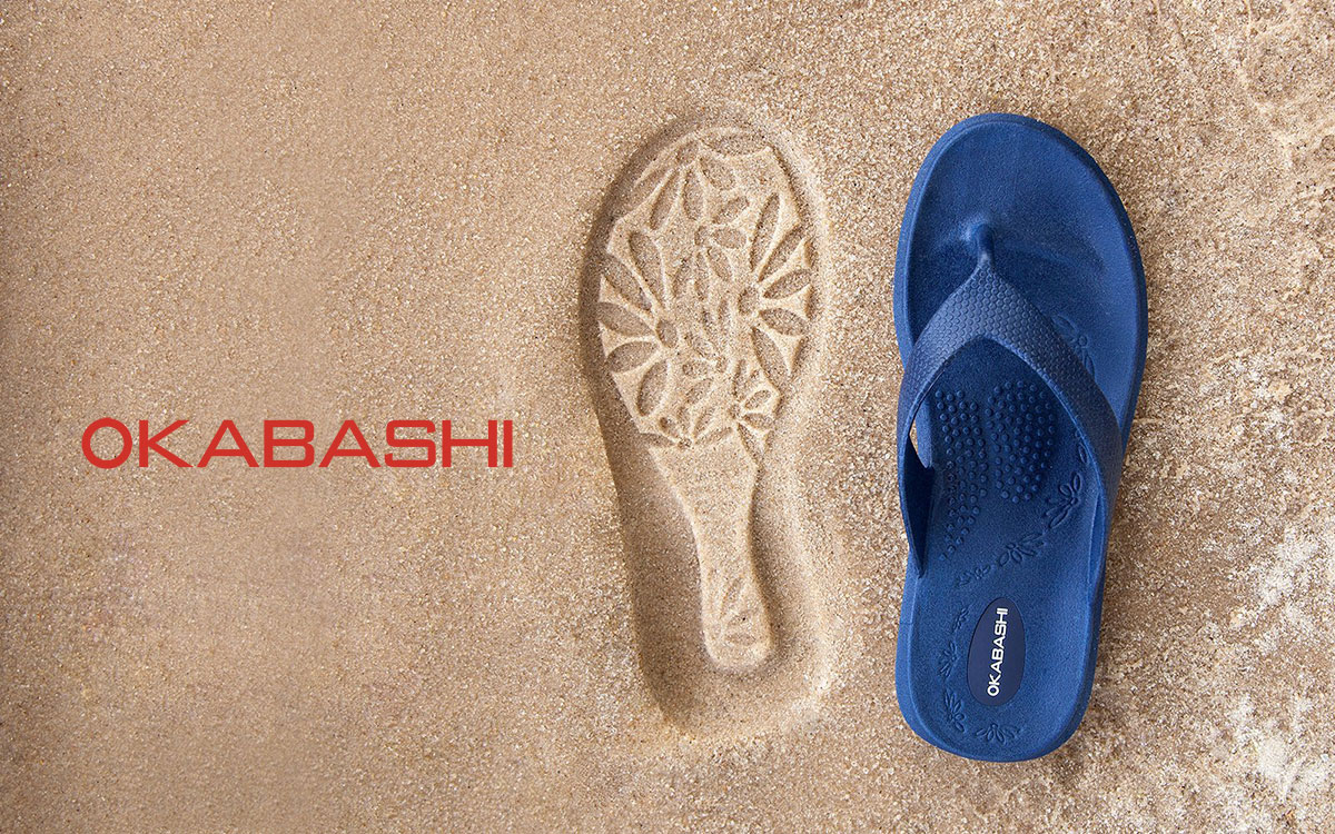Okabashi Flip Flops & Apparel