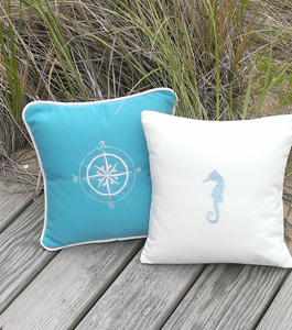 Nantucket Bound Pillows