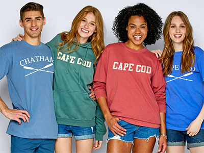 Soft as a Grape Cape Cod t-shirts
