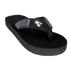 Tidewater Sandals Daisy Gingham Flip Flop