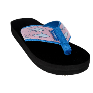 Tidewater Sandals Shark Kids Flip Flop