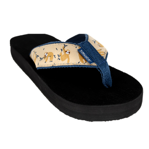 Tidewater Sandals Sloth Flip Flop