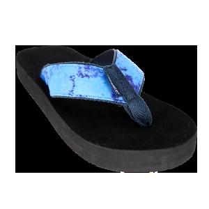 Tidewater Sandals Tie Die Blue Flip Flop